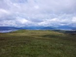 Looking NW from Dunrod Hill