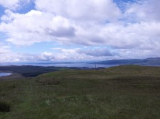 Looking towards the Kyles of Bute from Dunrod Hill