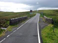 North Ayrshire sign at Rotten Water Bridge