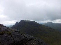 the Cobbler and Ben Donich from descent off Narnain