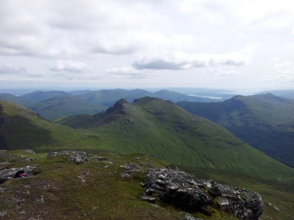 The Cobbler and the Luss hills