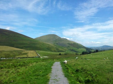 Blencathra from Latrigg