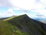 The ridge walk to Hallsfell Top