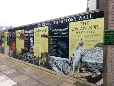 Cockermouth History Wall