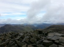 Derwent Water from Scafell Pike