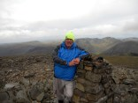 Mr Mhor on Scafell Pike