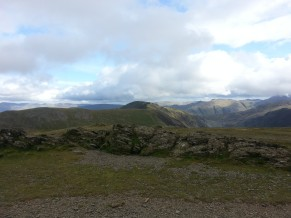 Looking back to Dale Head