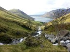 Looking from Lingmell Gill to Wastwater