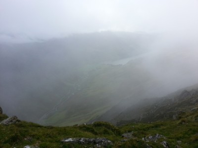 Misty and rain heading my way