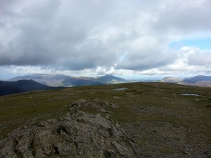 Skiddaw, Blencathra from Robinson
