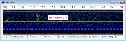 JT9 trace