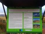 Information board at car park