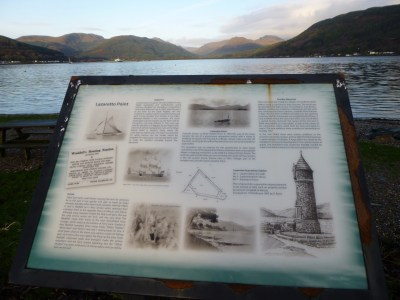 Looking NW up the Holy Loch