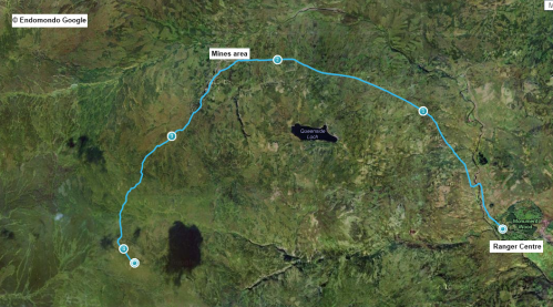 HoS route in