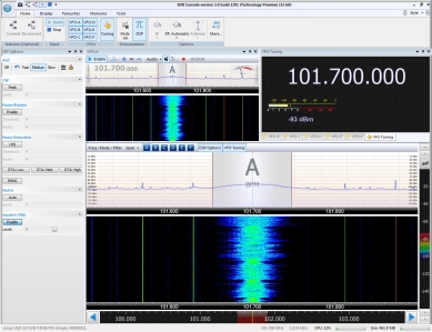 Classic FM (UK) using SDR Radio Pro v2