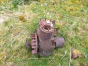 Glenbrae - old engine block