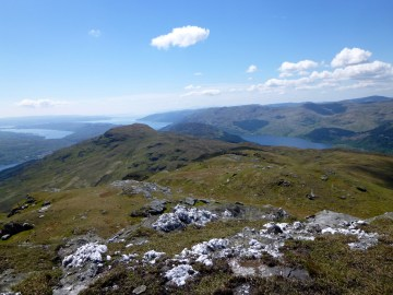 Beinn Reithe and lots of water