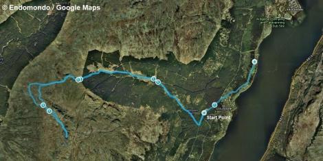 Cnoc Coinnich route