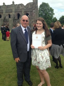 Ailsa and her Dad