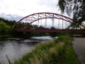 Bonhill Bridge and salmon pool