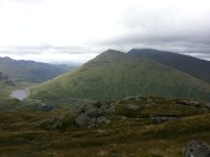 Beinn Luibhean and Ime under cloud