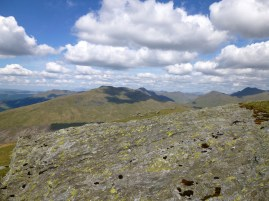 Ben Donich from the summit of Cnoc Coinnich
