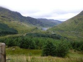 Loch Restil and the top of The Rest