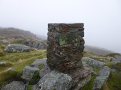 Tal Y Fan trig point