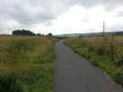 Track near Cunston BEFORE