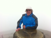 GAX at summit cairn © Roddy 2MØIOB