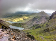 Looking down to Glaslyn © Roddy 2MØIOB