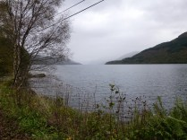 Looking up the loch