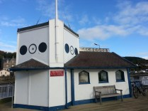 Polly visits Kilcreggan Pier