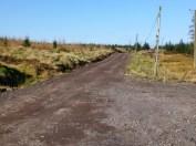 Garshangan track resurface