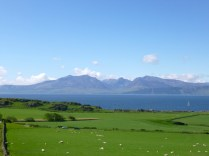 Arran from St Blanes
