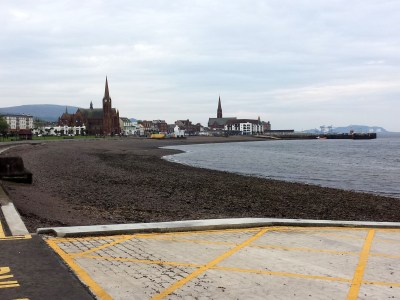 Largs seafront