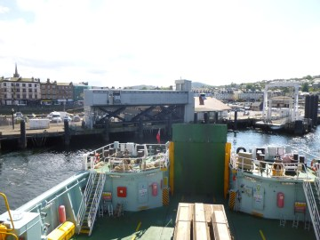 Leaving Rothesay