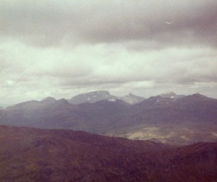 Ben Nevis from the big Buchaille