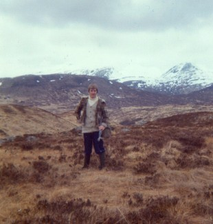 Heading out Rannoch way