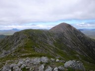 Looking back to Stob Dearg