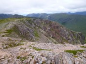 The exit of the Coire