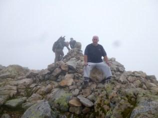 Yer Man at summit