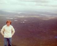 Yer man on top of Stob Dearg