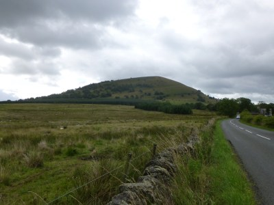 Great Mell Fell in the dry