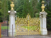 Garden gates in Glen Masson