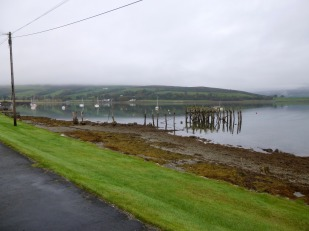 Port Bannatyne pier remains