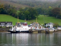 the ferry at Colintraive