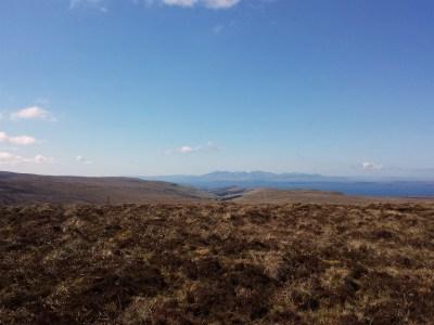 the Arran hills