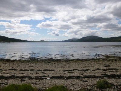 Looking down Loch Fyne