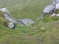 Browncove Crag floor